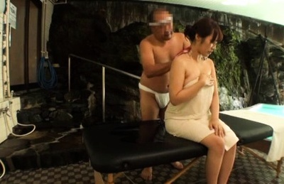 Kazane maika asian busty has fish taco rubbed during oil massage. Kazane Maika Asian busty has fish taco rubbed during oil massage